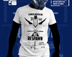 T-shirt Promoprint Gamers Never Die