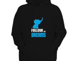 Hoodie Photo Book Follow Your Dreams