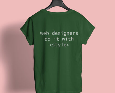 T-shirt Do It With Style