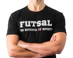 T-shirt WearFutsal Bitcoin Of Sports