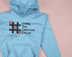 Hoodie Jan de Jong #Croatian Dream Chess