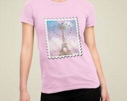 T-shirt Outtabox Paris Dream